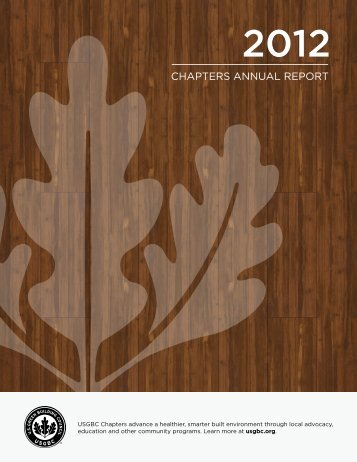 CHAPTERS ANNUAL REPORT - US Green Building Council