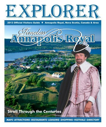Explorer - Tour Annapolis Royal