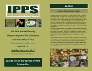 Program 3.1 Internet - International Plant Propagators Society ...