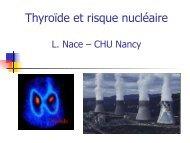 thyroïde et nucléaire - ammppu