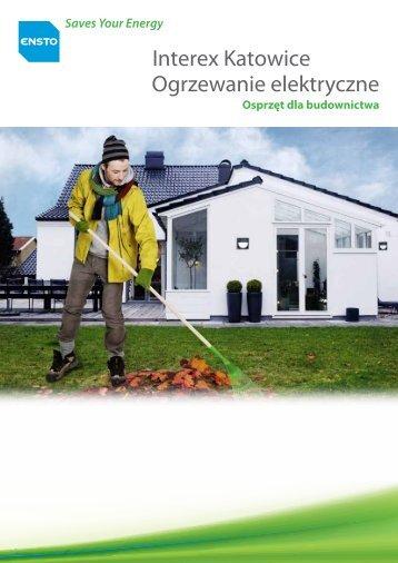 Ensto - Poradnik ogrzewania elektrycznego - Interex Katowice