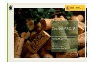 Corcho FSC, SÍ - WWF