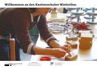Willkommen an den Kantonsschulen Winterthur
