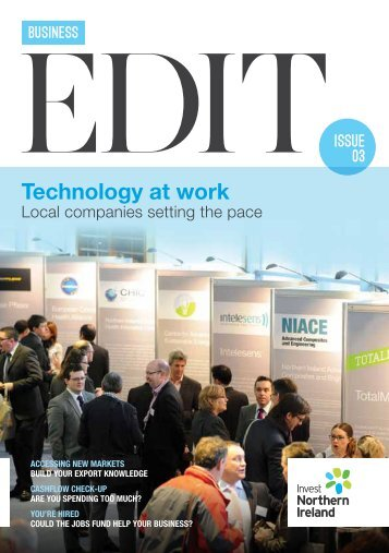 Technology at work - Boosting Business