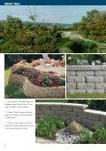 Abgrenzen. Einfrieden. Stützen. Mauersysteme von Rinn - Rinn Beton - Seite 4