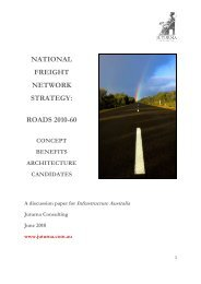 national freight network strategy - Infrastructure Australia