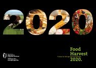 Food Harvest 2020 - A vision for Irish agri - Department of Agriculture