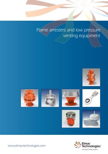 Flame arresters and low pressure venting equipment