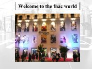 fnac in retail park : Except Â« stand alone - Reed Midem