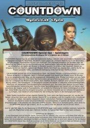 COUNTDOWN Special Ops – Spielregeln - The Game Master