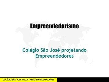 Empreendedorismo - Colégio São José