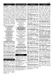 11/5/09 Class. ads - Battle Creek Shopper News