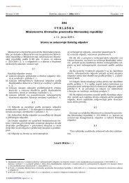 Vyhláška MŽP SR č. 284/2001 Z.z. ktorou sa ... - NATUR-PACK, as