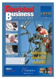 August 2005.pdf - Electrical Business Magazine