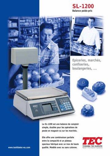 2658 SL-1200/FR - Toshiba Tec