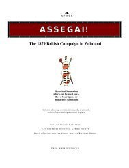 Assegai game.pdf - Wasatch Front Historical Gaming Society