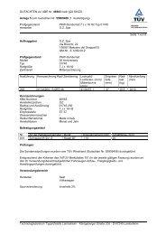GUTACHTEN zur ABE Nr. 46563 nach §22 StVZO Anlage 5 zum ...