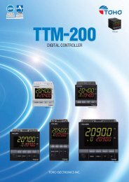 TTM-200 Digital Controller