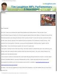 Tim Loughton MP for East Worthing and Shoreham