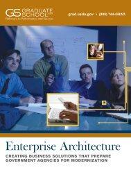 Enterprise Architecture - Graduate School USA