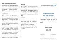 ACU Visitor Information Leaflet - Royal Shrewsbury Hospitals NHS ...