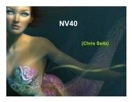 NV40의 진화 - NVIDIA Developer Zone