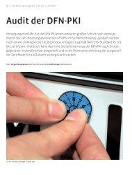 Audit der DFN-PKI - DFN-Verein
