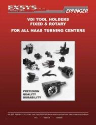 HAAS Tooling Catalog - EXSYS Tool, Inc.
