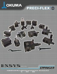 PRECI-FLEX® - EXSYS Tool, Inc.