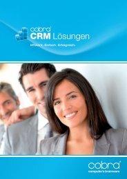 Broschüre cobra CRM-Lösungen