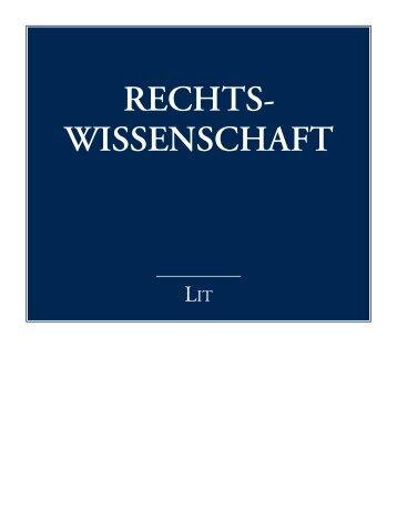 RECHTS- WISSENSCHAFT
