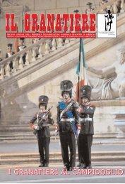 n . 4 - luglio - dicembre 2009 - Associazione Nazionale Granatieri di ...