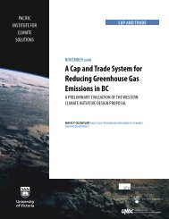 A Cap and Trade System for Reducing Greenhouse Gas Emissions ...