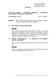 Executive Committee 23rd October, 2012 Agenda Item No. 3(c ...