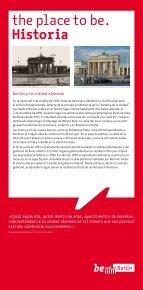 Berlín está marcada por una historia variada, como casi ... - be Berlin - Page 7