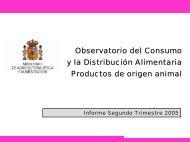 Observatorio del Consumo y la Distribución Alimentaria ... - Coag