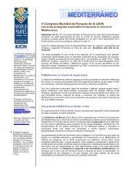 Dossier sobre áreas protegidas en el Mediterráneo - Centre for ...