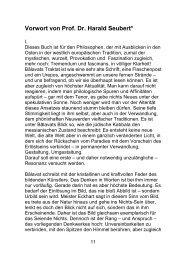 Vorwort von Prof. Dr. Harald Seubert* - AndreasMascha.de