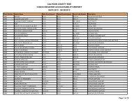 April 2013 - Calhoun County Schools