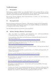 Veröffentlichungen und Vorträge - Institut für Ostrecht - Universität zu ...