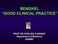 and investigators - UKM Medical Centre