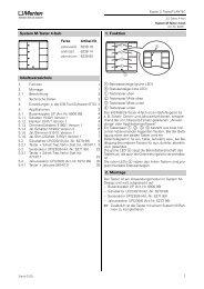 System M-Taster 4-fach Inhaltsverzeichnis 1 ... - Eibmarkt.com