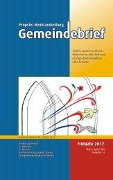 GB2012-03_04_05-Fruehjahr - Luth. Kirchengemeinden ...