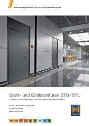Stahl- und Edelstahltüren STS / STU - Hörmann KG