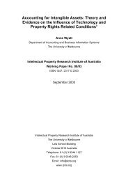 Accounting for Intangible Assets - Intellectual Property Research ...