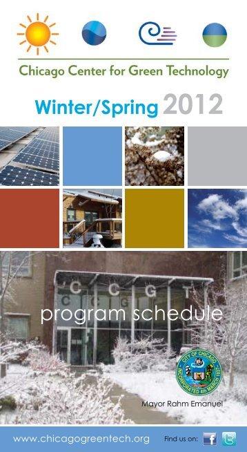 Winter-Spring 2012 - Chicago Center for Green Technology