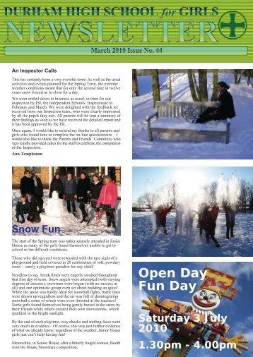 Open Day Fun Day - Durham High School for Girls