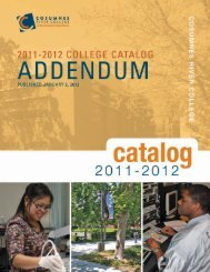 2011-12 College Catalog Mid-Year Addendum - Cosumnes River ...