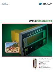 Grader LaSer-SteuerunG - Topcon Positioning