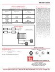 International Fiber Systems, Inc. VR1001 Series - Altram - Page 2